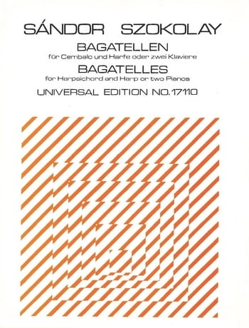 Bagatelles. 2 pianos - Sandor Szokolay - Partition - laflutedepan.com