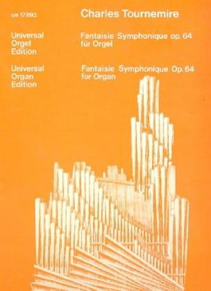 Fantaisie Symphonique Op. 64 - Charles Tournemire - laflutedepan.com
