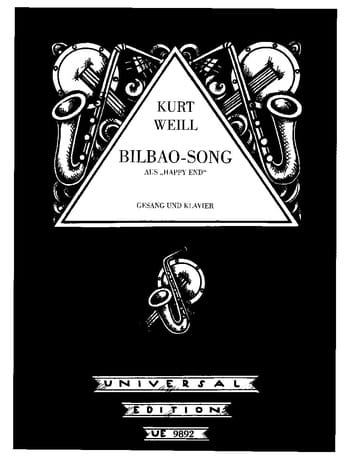 Kurt Weill - Bilbao-Song. Happy End - Partition - di-arezzo.fr