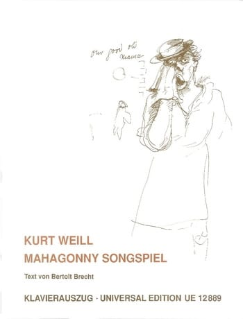 Kurt Weill - Mahagonny Songspiel - Partition - di-arezzo.fr