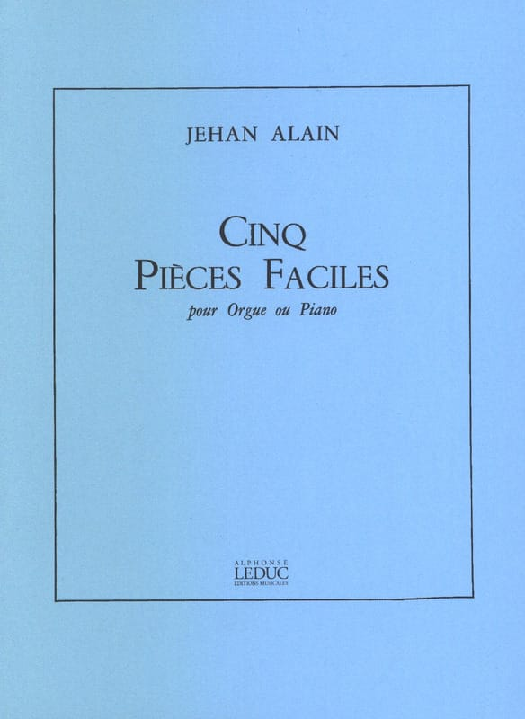 Jehan Alain - 5 easy parts - Partition - di-arezzo.com