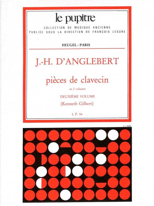 Pièces de Clavecin Volume 2 - laflutedepan.com