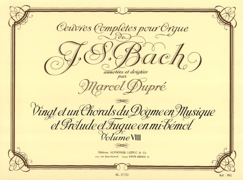 Oeuvres Complètes pour Orgue Volume 8 - laflutedepan.com