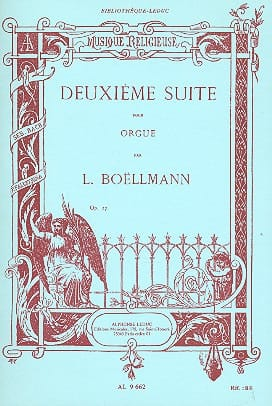 Léon Boëllmann - 2nd Suite Opus 27 For Grand Organ - Partition - di-arezzo.com