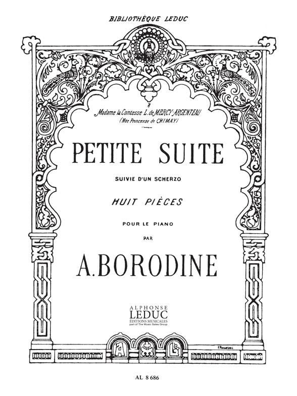 Alexandre Borodine - Small Suite Followed by a Scherzo - Partition - di-arezzo.com
