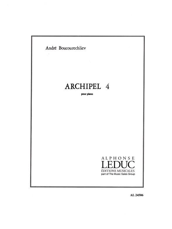 Archipel 4 - André Boucourechliev - Partition - laflutedepan.com
