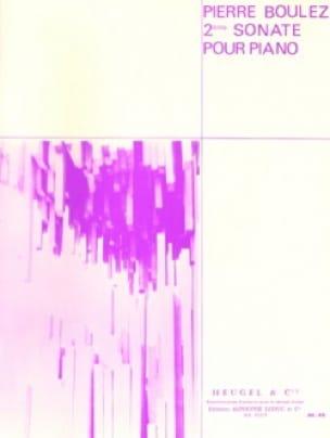Pierre Boulez - Sonate Nr. 2 - Partition - di-arezzo.de