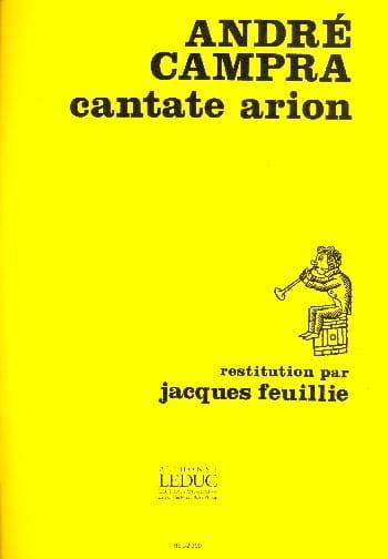 Arion - CAMPRA - Partition - Flûte traversière - laflutedepan.com