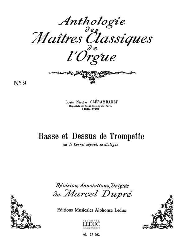 Basse Et Dessus De Trompette - laflutedepan.com