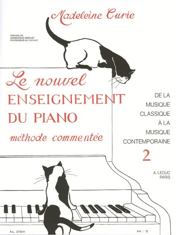 Madeleine Curie - New Piano Teaching Volume 2 - Partition - di-arezzo.co.uk