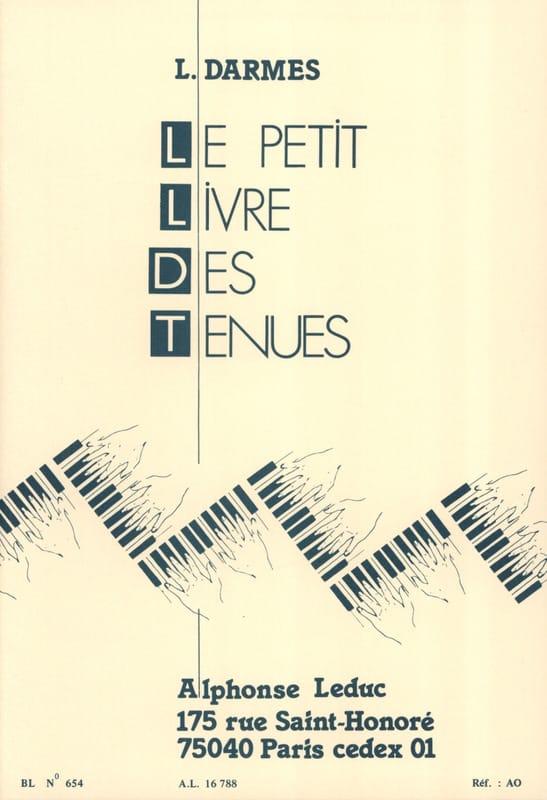 Petit Livre Des Tenues - Darmes - Partition - Piano - laflutedepan.com