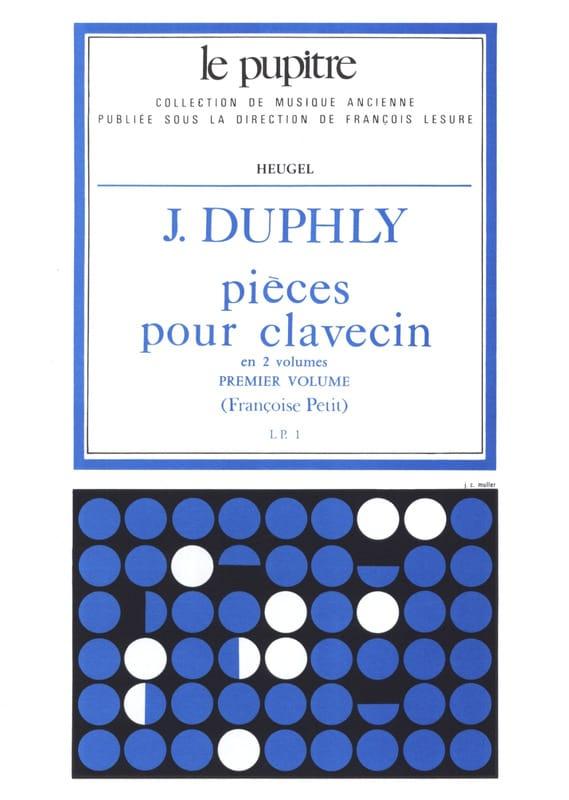 Pièces pour Clavecin. Volume 1 - laflutedepan.com