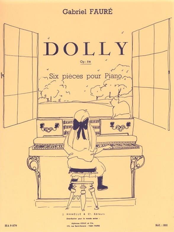 Dolly Opus 56. Piano - FAURÉ - Partition - Piano - laflutedepan.com