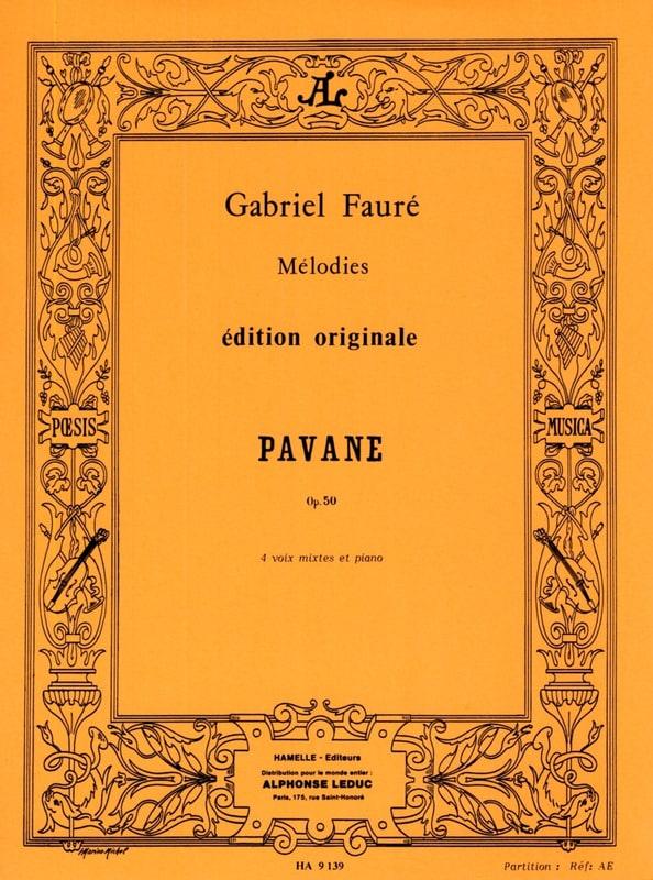 Gabriel Fauré - pavane - Partition - di-arezzo.com