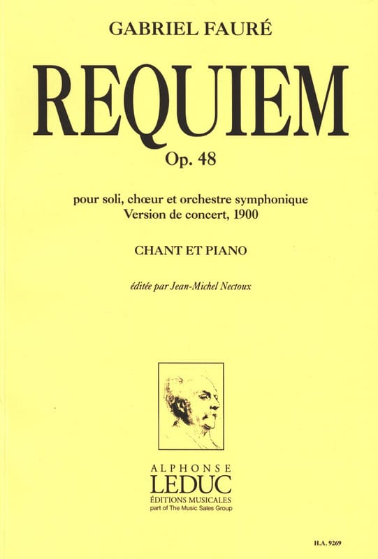 Gabriel Fauré - Requiem - 1900 Version - Partition - di-arezzo.de