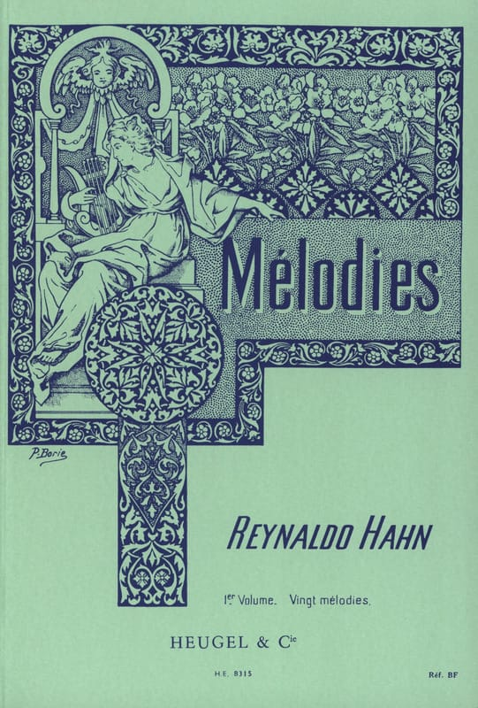 Reynaldo Hahn - Volume 1 melodies - Partition - di-arezzo.co.uk