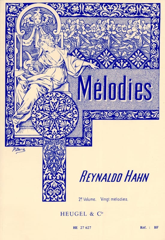 Reynaldo Hahn - Volume 2 melodies - Partition - di-arezzo.co.uk