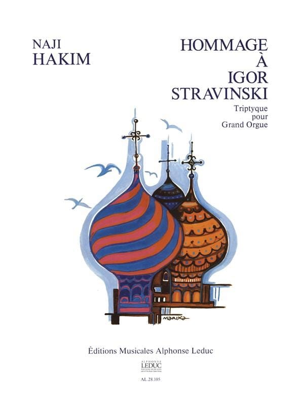 Naji Hakim - Homenaje a Igor Stravinsky - Partition - di-arezzo.es