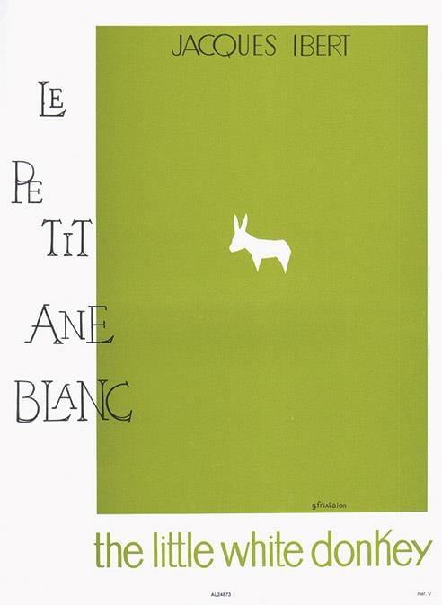 Jacques Ibert - Le Petit Ane Blanc - Partition - di-arezzo.fr
