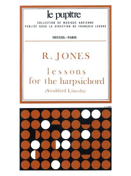 Lessons For The Harpsichord - Richard Jones - laflutedepan.com
