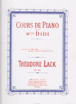 Théodore Lack - Preludi di Miss Didi Opus 85 - Partition - di-arezzo.it