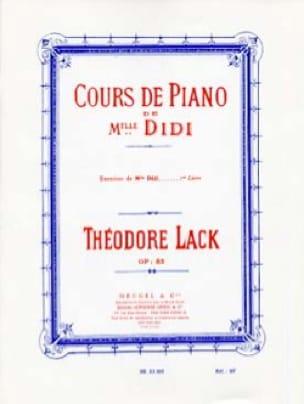 Théodore Lack - Esercizi di Miss Didi Opus 85 Book 1 - Partition - di-arezzo.it