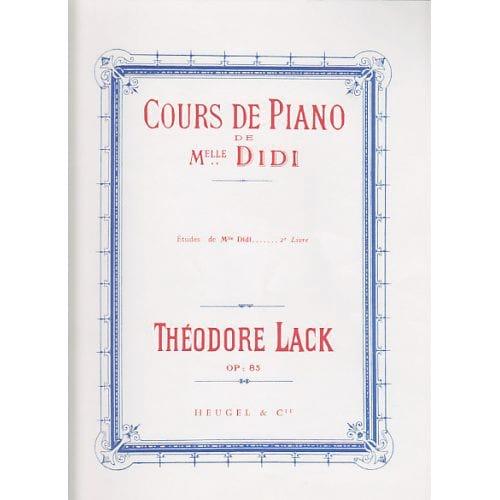Théodore Lack - Studi di Miss Didi Opus 85 Libro 2 - Partition - di-arezzo.it