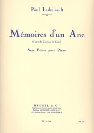 Mémoires d'un Ane - Paul Ladmirault - Partition - laflutedepan.com