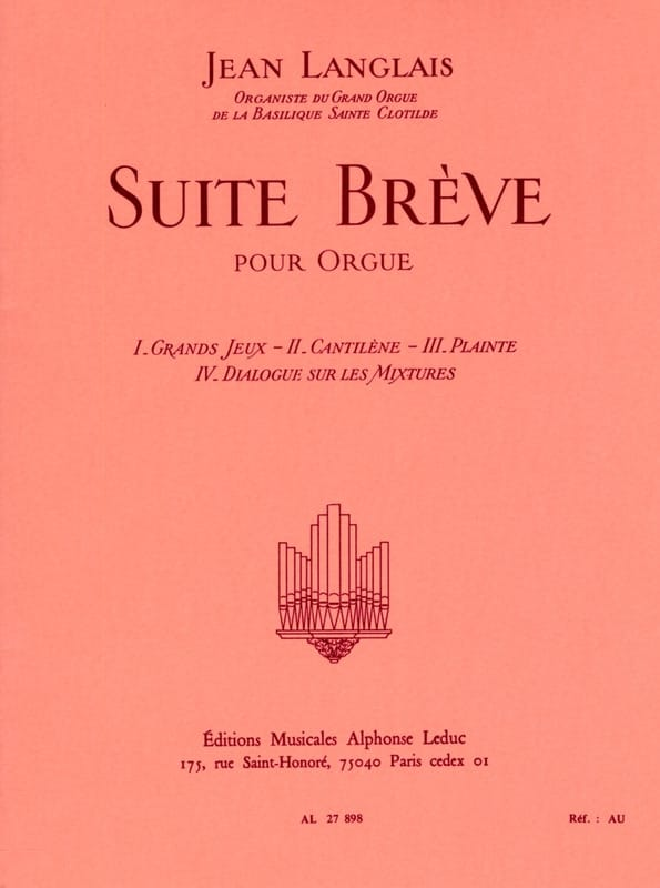 Jean Langlais - Suite breve - Partition - di-arezzo.it