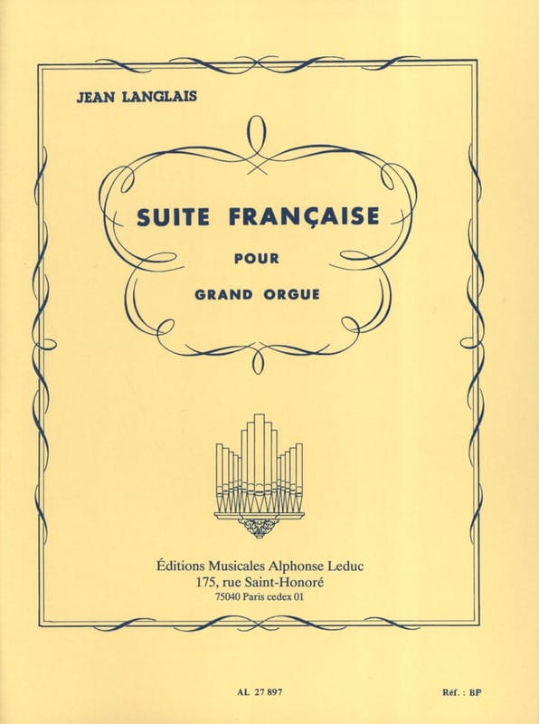 Jean Langlais - Suite francese - Partition - di-arezzo.it