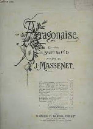 Aragonaise - MASSENET - Partition - Piano - laflutedepan.com