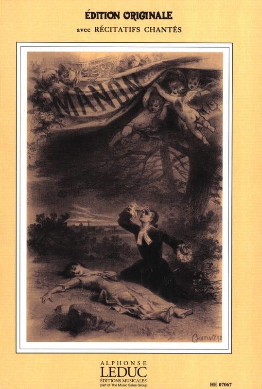 Jules Massenet - Manon - Partition - di-arezzo.es