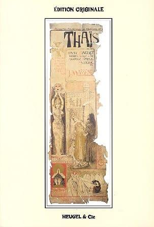 Jules Massenet - thais - Partition - di-arezzo.es