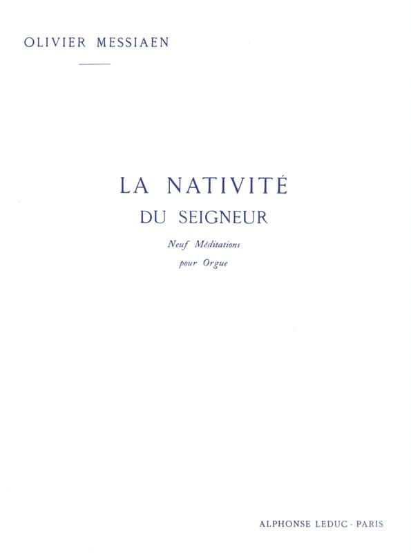 Olivier Messiaen - The Nativity of the Lord Volume 2 - Partition - di-arezzo.com