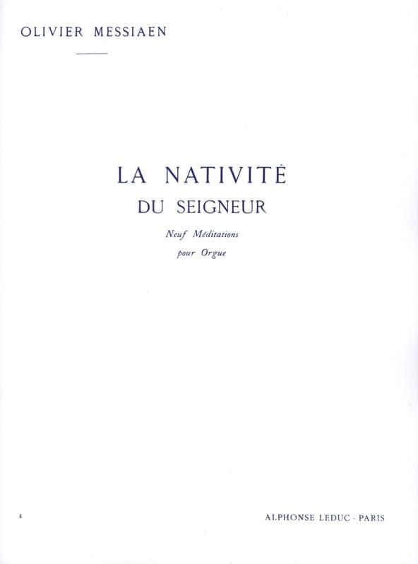 Olivier Messiaen - The Nativity of the Lord Volume 4 - Partition - di-arezzo.com