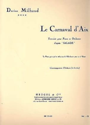 Darius Milhaud - Carnival of Aix. 2 Pianos - Partition - di-arezzo.co.uk