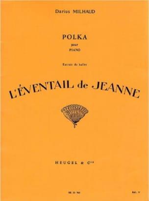 Darius Milhaud - Polka the Joan Fan - Partition - di-arezzo.com