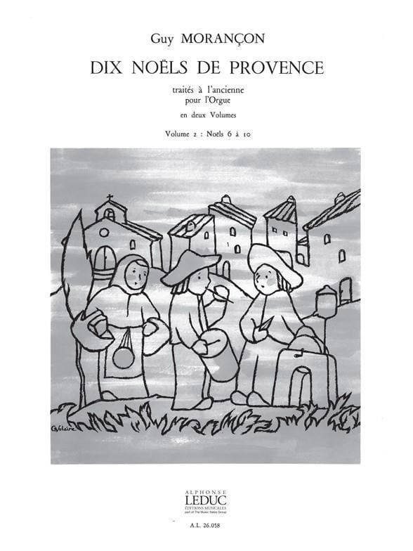 Guy Morançon - 10 Christmas of Provence Volume 2 - Partition - di-arezzo.com