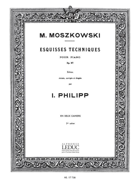 Moritz Moszkowski - Esquisses Techniques Opus 97 Volume 2 - Partition - di-arezzo.fr