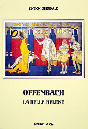 Jacques Offenbach - The beautiful Helen - Partition - di-arezzo.co.uk