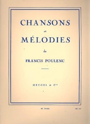 Chansons et Mélodies - POULENC - Partition - laflutedepan.com