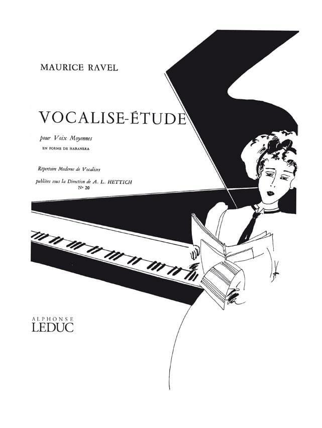 Ravel Maurice / Hettich - Vocalise Study. Mean Voice - Partition - di-arezzo.com
