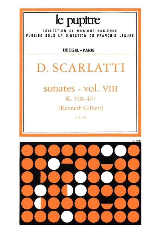 Scarlatti Domenico / Gilbert Kenneth - Complete Works Volume 8. K358 A K407 - Partition - di-arezzo.co.uk