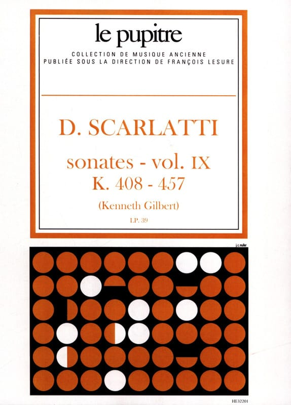 Scarlatti Domenico / Gilbert Kenneth - Complete Works Volume 9. K408 A K457 - Partition - di-arezzo.co.uk