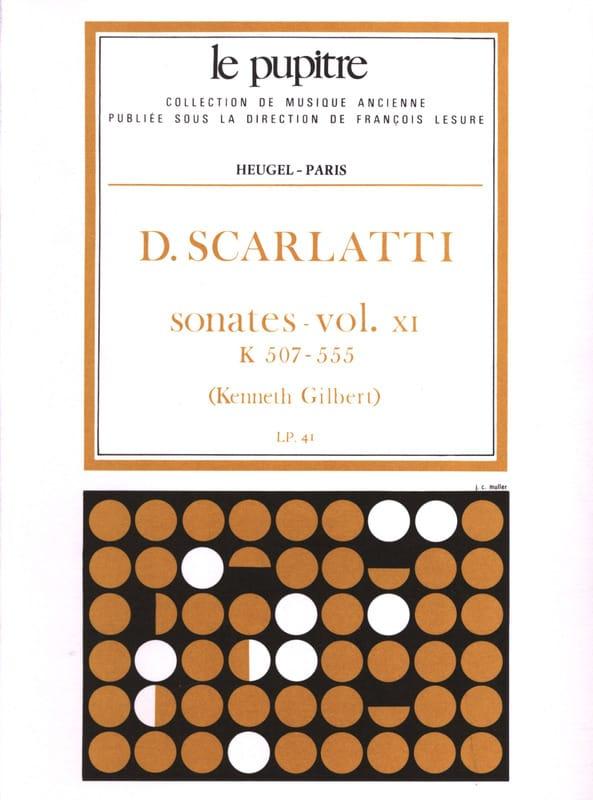Scarlatti Domenico / Gilbert Kenneth - Complete Works Volume 11. K507 A K555 - Partition - di-arezzo.co.uk