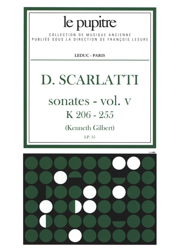 Scarlatti Domenico / Gilbert Kenneth - Complete Works Volume 5. K206 A K255 - Partition - di-arezzo.co.uk