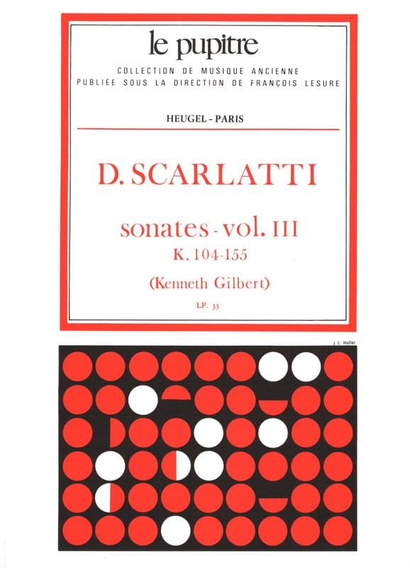 Oeuvres Complètes Volume 3. K104 A K155 - SCARLATTI - laflutedepan.com