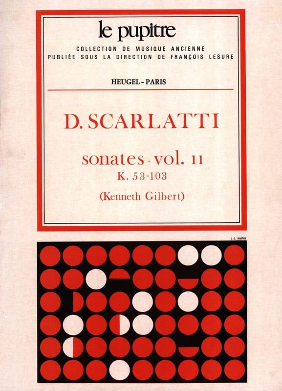 Oeuvres Complètes Volume 2. K53 A K103 - SCARLATTI - laflutedepan.com