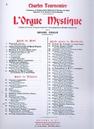 Immaculée Conception. Orgue Mystique 2 - laflutedepan.com