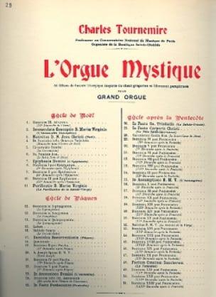 4ème Dimanche Après la Pentecôte. Orgue Mystique 29 - laflutedepan.com